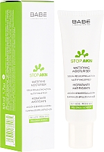 Perfumería y cosmética Crema facial seborreguladora con extracto de iris - Babe Laboratorios Stop Akn Skin Hidratante Moisturiser
