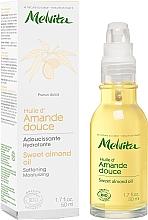 Perfumería y cosmética Aceite de almendra dulce para rostro y cuerpo - Melvita Huiles De Beaute Sweet Almond Oil