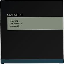 Perfumería y cosmética Toallitas desmaquillantes hipoalergénicas con ácido hialurónico, D-pantenol y tetrapéptidos - M2Beaute M2Facial Oil-Free Eye Make-Up Remover
