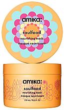 Perfumería y cosmética Mascarilla capilar nutritiva con aceite de jojoba, vegana - Amika Soulfood Nourishing Mask