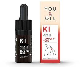 Perfumería y cosmética Mezcla de aceites esenciales para fiebre - You & Oil KI-Temperature Touch Of Wellness Essential Oil