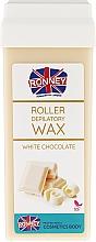 Perfumería y cosmética Cartucho de cera depilatoria roll-on, chocolate blanco - Ronney Wax Cartridge White Chocolate