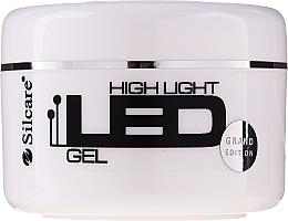 Perfumería y cosmética Gel constructor de uñas - Silcare High Light LED Pink