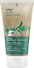 Perfumería y cosmética Exfoliante facial matificante hipoalergénico con extracto de tomillo - Tolpa Green Mattifying Gel-Scrub