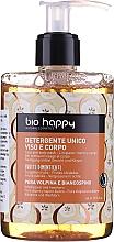 Perfumería y cosmética Gel limpiador para rostro y cuerpo con pera volpina y espino blanco - Bio Happy Volpina, Pear & Hawthorn Face & Body Wash