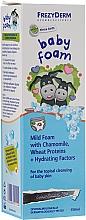 Perfumería y cosmética Espuma limpiadora para bebés con extracto de camomila y proteína de trigo - Frezyderm Baby Foam