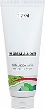 Perfumería y cosmética Gel de ducha perfumado - Tizmi Total Body Wash Rhubarb & Mint