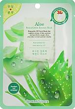 Perfumería y cosmética Mascarilla facial de tejido 3D revitalizante con extracto de aloe - Beauugreen Contour 3d Aloe Essence Mask