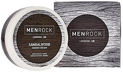 Crema de afeitar con aroma a sándalo - Men Rock Sandalwood Shave Cream