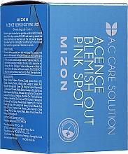 Perfumería y cosmética Esencia facial antiacné con ácido hialurónico y calamina - Mizon Acence Blemish Out Pink Spot