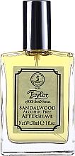 Perfumería y cosmética Taylor Of Old Bond Street Sandalwood Alcohol Free Aftershave Lotion - Loción aftershave, sin alcohol