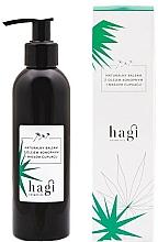 Perfumería y cosmética Loción corporal natural con aceite de cáñamo y manteca de Cupuacu - Hagi Body Lotion