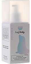 Perfumería y cosmética Gel natural para cuerpo y cabello para bebés con aceite de almendras - Hagi Baby Shower Gel