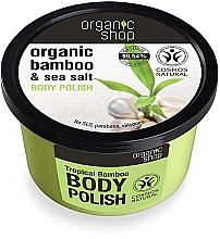 Perfumería y cosmética Exfoliante corporal de sal marina y extracto orgánico de bambú - Organic Shop Bamboo & Sea Salt Body Polish