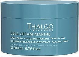 Perfumería y cosmética Cold cream corporal de nutrición intensa - Thalgo Cold Cream Marine Deeply Nourishing Body Cream