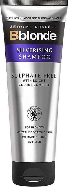 Champú iluminador sin sulfatos enriquecido con lavanda - Jerome Russell Bblonde Silverising Sulphate Free Brightening Shampoo