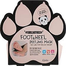 Perfumería y cosmética Mascarilla exfoliante de pies con extracto de lavanda y romero - Esfolio Foot & heel Peeling Mask