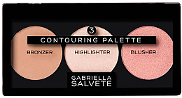 Perfumería y cosmética Paleta de contorno facial - Gabriella Salvete Contouring Palette