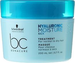 Perfumería y cosmética Mascarilla capilar intensiva con ácido hialurónico y queratina - Schwarzkopf Professional Bonacure Hyaluronic Moisture Kick Treatment