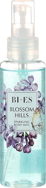 Bi-es Blossom Hills Sparkling Body Mist - Bruma corporal brillante con notas de cedro, bergamota y pachulí