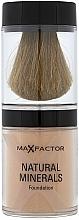 Perfumería y cosmética Base de maquillaje mineral con brocha - Max Factor Natural Minerals