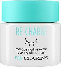 Perfumería y cosmética Mascarilla facial de noche relajante - Clarins My Clarins Re-Charge Relaxing Sleep Mask