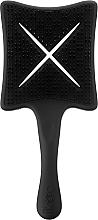 Perfumería y cosmética Cepillo paleta, negro - Ikoo Paddle X Classic Beluga Black