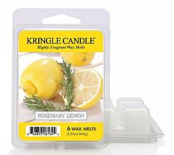 Perfumería y cosmética Cera aromática con fragancia a romero y limón - Kringle Candle Wax Melt Rosemary Lemon