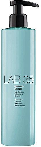 Champú suave revitalizante con extracto de bambú & aceite de oliva - Kallos Cosmetics Lab 35 Curl Shampoo