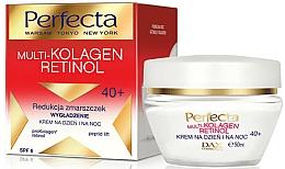 Perfumería y cosmética Crema facial con colágeno y retinol - Dax Cosmetics Perfecta Multi-Collagen Retinol Face Cream 40+