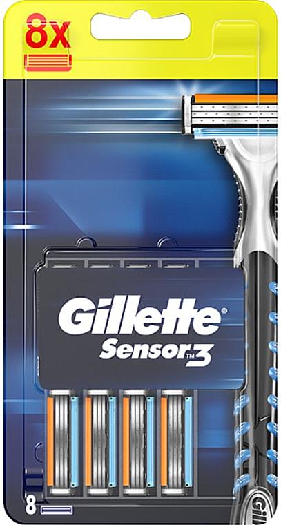 Recambios de cuchillas, 8uds. - Gillette Sensor Excel