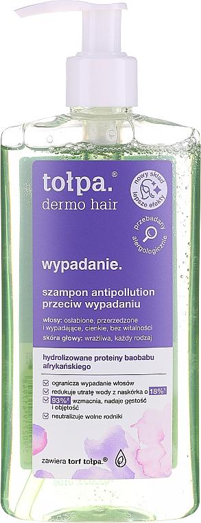 Champú vegano con proteínas de baobab africano - Tolpa Dermo Hair Anti-Hairloss Shampoo