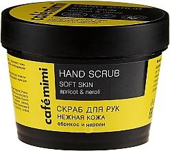 Perfumería y cosmética Exfoliante de manos con aceites de neroli y albaricoque - Cafe Mimi Hand Scrub Soft Skin