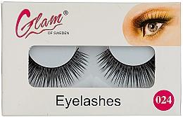 Perfumería y cosmética Pestañas postizas (sin pegamento) №024 - Glam Of Sweden Eyelashes