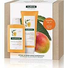 Perfumería y cosmética Set para cabello (champú/200ml + acondicionador/200ml) - Klorane Mango
