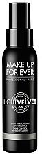 Perfumería y cosmética Spray fijador de maquillaje efecto mate - Make Up For Ever Light Velvet Air Shine-Control Refreshing Spray