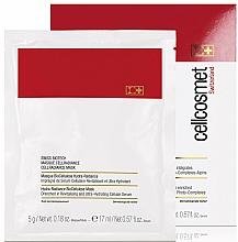 Perfumería y cosmética Mascarilla Iluminadora impregnada con suero con extractos celulares estabilizados (6%), agua de glaciares suizos y fito-complejos alpinos - Cellcosmet Swiss BioTech CellRadiance Mask