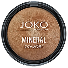 Polvo compacto mineral horneado - Joko Mineral Powder