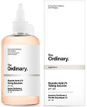 Perfumería y cosmética Tónico facial con 7% ácido glicólico - The Ordinary Glycolic Acid 7% Toning Solution