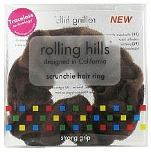 Perfumería y cosmética Coletero, marrón - Rolling Hills Scrunchie Hair Rings Brown