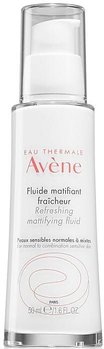 Fluido facial matificante con efecto refrescante para pieles sensibles - Avene Refreshing Mattifying Fluid
