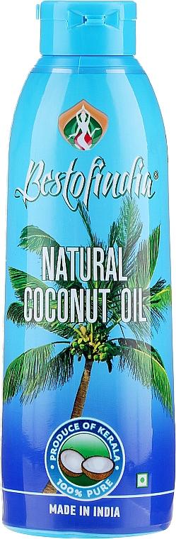 Aceite para cuerpo y cabello de coco de Kerala 100% puro - Bestofindia Natural Coconut Oil
