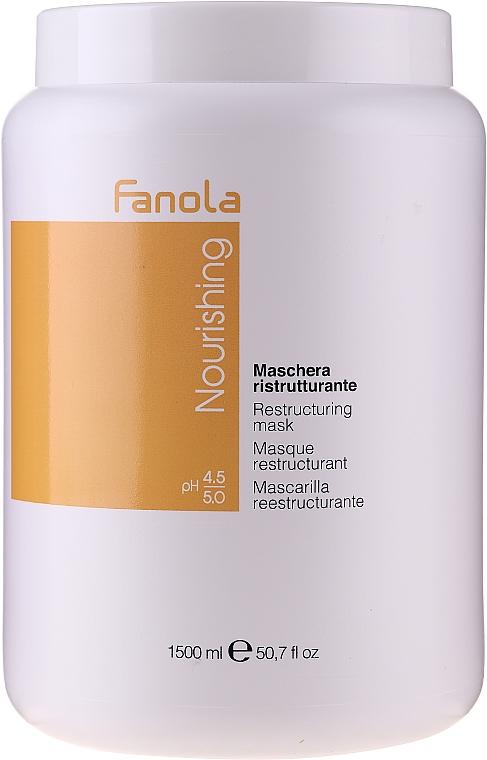 Mascarilla capilar reestructurante con proteínas de leche - Fanola Nourishing Restructuring Mask