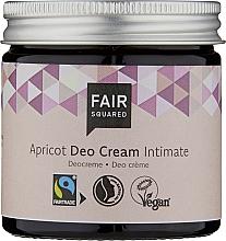 Perfumería y cosmética Crema desodorante íntimo de albaricoque - Fair Squared Apricot Deo Cream Intimate