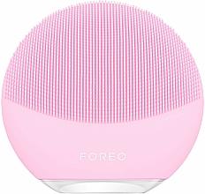 Perfumería y cosmética Mini cepillo de limpieza facial y masaje, rosa - Foreo Luna Mini 3 Facial Cleansing Brush Pearl Pink