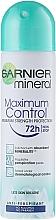 Perfumería y cosmética Desodorante antitranspirante - Garnier Mineral máxima protección 72 horas