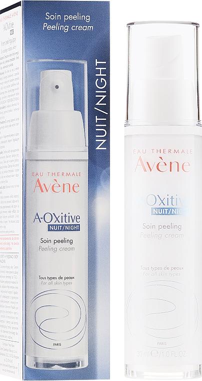 Crema exfoliante con provitamina E - Avene A-Oxitive Night Peeling Cream