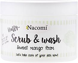 Perfumería y cosmética Exfoliante limpiador con mango - Nacomi Scrub and Wash Sweet Mango Foam