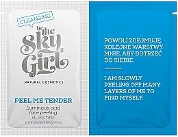 Perfumería y cosmética Exfoliante facial con ácido azelaico, vitaminas y copos de avena - Be The Sky Girl Super Star Peel Me Tender