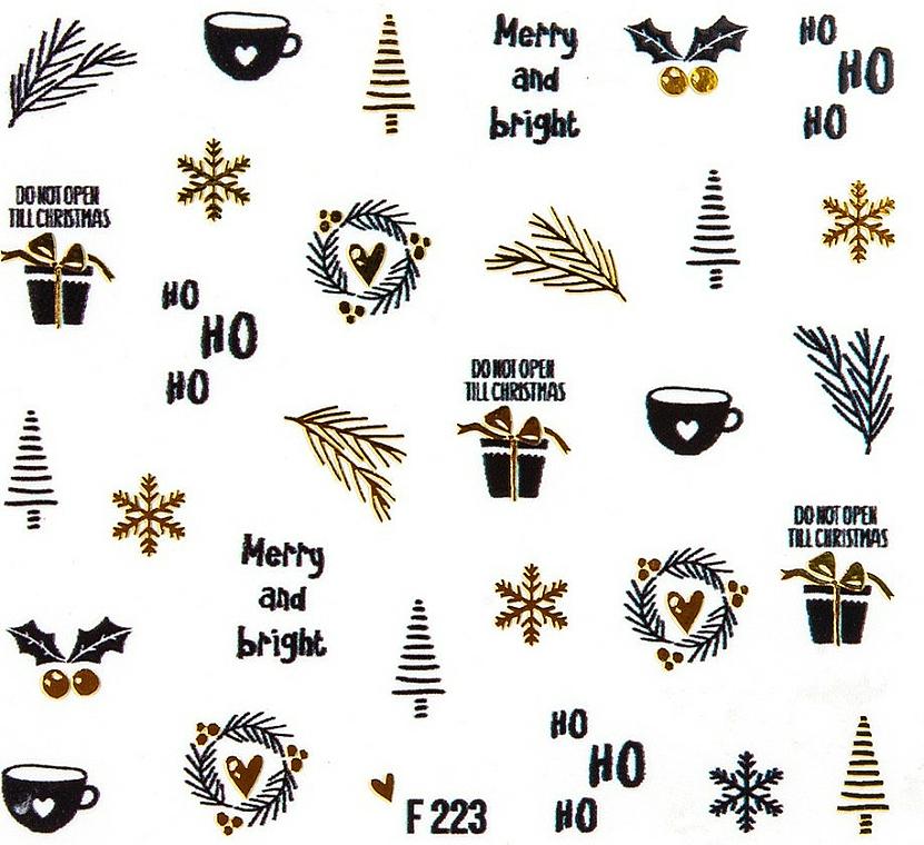 Adhesivos decorativos para uñas - Peggy Sage Christmas 2020